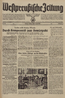 Westpreussische Zeitung, Nr. 131 Freitag 9 Juni 1939, 8. Jahrgang