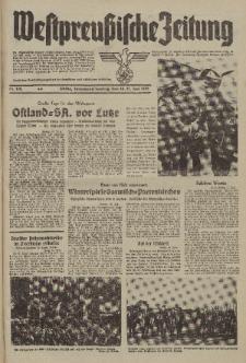 Westpreussische Zeitung, Nr. 132 Sonnabend/Sonntag 10/11 Juni 1939, 8. Jahrgang