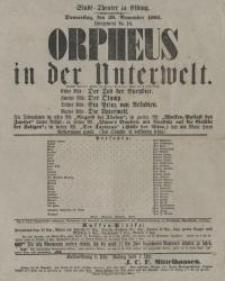 Orpheus in der Unterwelt - afisz
