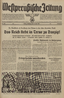Westpreussische Zeitung, Nr. 139 Montag 19 Juni 1939, 8. Jahrgang