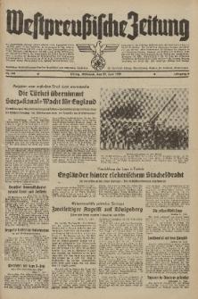 Westpreussische Zeitung, Nr. 141 Mittwoch 21 Juni 1939, 8. Jahrgang