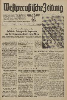 Westpreussische Zeitung, Nr. 142 Donnerstag 22 Juni 1939, 8. Jahrgang