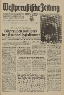 Westpreussische Zeitung, Nr. 145 Montag 26 Juni 1939, 8. Jahrgang