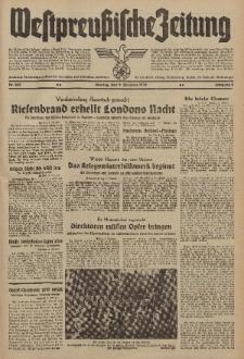 Westpreussische Zeitung, Nr. 235 Montag 9 Oktober 1939, 8. Jahrgang