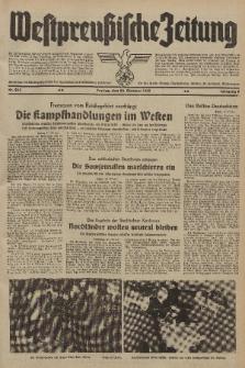 Westpreussische Zeitung, Nr. 245 Freitag 20 Oktober 1939, 8. Jahrgang