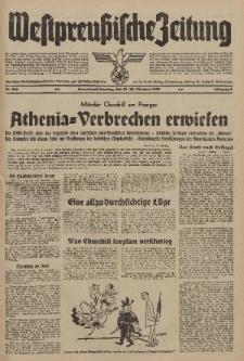 Westpreussische Zeitung, Nr. 246 Sonnabend/Sonntag 21/22 Oktober 1939, 8. Jahrgang