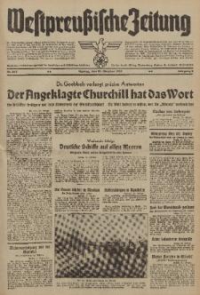 Westpreussische Zeitung, Nr. 247 Montag 23 Oktober 1939, 8. Jahrgang
