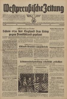 Westpreussische Zeitung, Nr. 260 Dienstag 7 November 1939, 8. Jahrgang