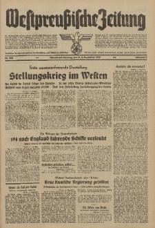 Westpreussische Zeitung, Nr. 282 Sonnabend/Sonntag 2/3 Dezember 1939, 8. Jahrgang