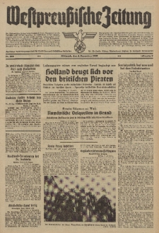 Westpreussische Zeitung, Nr. 285 Mittwoch 6 Dezember 1939, 8. Jahrgang