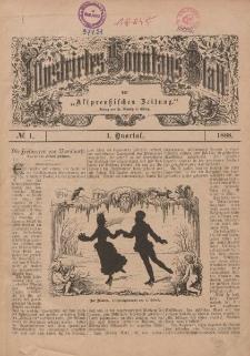 Illustriertes Sonntags-Blatt, Nr 1