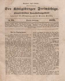 Der Königsberger Freimüthige, Nr. 15 Sonnabend, 5 Februar 1848