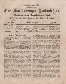 Der Königsberger Freimüthige, Nr. 53 Donnerstag, 4 Mai 1848