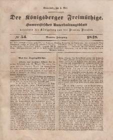 Der Königsberger Freimüthige, Nr. 54 Sonnabend, 6 Mai 1848
