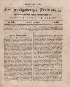 Der Königsberger Freimüthige, Nr. 56 Donnerstag, 11 Mai 1848
