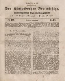 Der Königsberger Freimüthige, Nr. 79 Dienstag, 4 Juli 1848