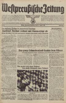 Westpreussische Zeitung, Nr. 78 Sonnabend/Sonntag 2/3 April 1938, 7. Jahrgang