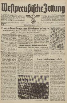 Westpreussische Zeitung, Nr. 81 Mittwoch 6 April 1938, 7. Jahrgang
