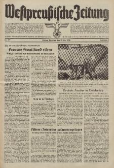 Westpreussische Zeitung, Nr. 125 Dienstag 31 Mai 1938, 7. Jahrgang