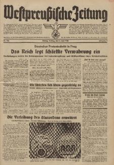 Westpreussische Zeitung, Nr. 128 Freitag 3 Juni 1938, 7. Jahrgang