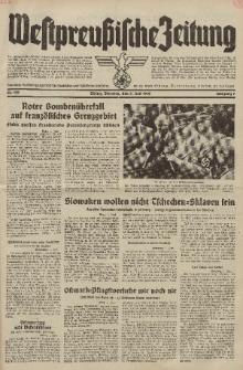 Westpreussische Zeitung, Nr. 130 Dienstag 7 Juni 1938, 7. Jahrgang
