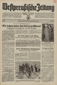 Westpreussische Zeitung, Nr. 134 Sonnabend/Sonntag 11/12 Juni 1938, 7. Jahrgang