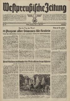 Westpreussische Zeitung, Nr. 135 Montag 13 Juni 1938, 7. Jahrgang