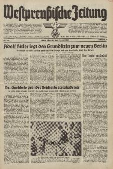 Westpreussische Zeitung, Nr. 136 Dienstag 14 Juni 1938, 7. Jahrgang
