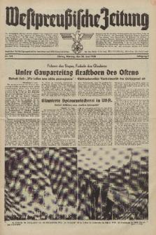 Westpreussische Zeitung, Nr. 141 Montag 20 Juni 1938, 7. Jahrgang