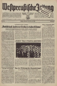 Westpreussische Zeitung, Nr. 148 Dienstag 28 Juni 1938, 7. Jahrgang