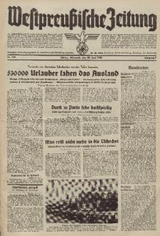 Westpreussische Zeitung, Nr. 149 Mittwoch 29 Juni 1938, 7. Jahrgang