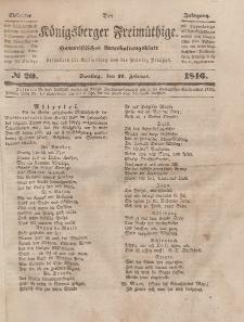 Der Königsberger Freimüthige, Nr. 20 Dienstag, 17 Februar 1846