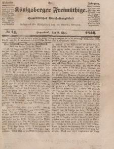 Der Königsberger Freimüthige, Nr. 14 Sonnabend, 2 Mai 1846