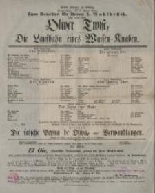 Oliver Twist, oder: Die Laufbahn eines Waisen-Knaben - Boz