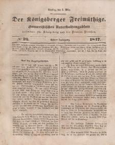 Der Königsberger Freimüthige, Nr. 26 Dienstag, 2 März 1847