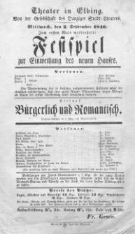 Bürgerlich und Romantisch - Eduard von Bauernfeld