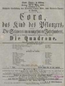 Cora, das Kind des Pflanzers, oder: Die Sclaverei im neunzehnten Jahrhundert. Die Quadrone - H. Held