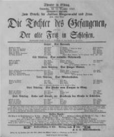 Die Tochter des Gefangenen, oder: Der alte Fritz in Schlesien - Herrmann Hersch