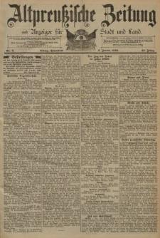 Altpreussische Zeitung, Nr. 2 Sonnabend 3 Januar 1891, 43. Jahrgang