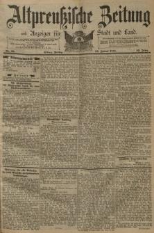 Altpreussische Zeitung, Nr. 19 Freitag 23 Januar 1891, 43. Jahrgang