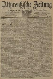 Altpreussische Zeitung, Nr. 28 Dienstag 3 Februar 1891, 43. Jahrgang