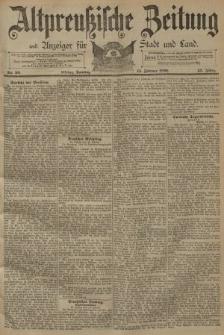 Altpreussische Zeitung, Nr. 39 Sonntag 15 Februar 1891, 43. Jahrgang