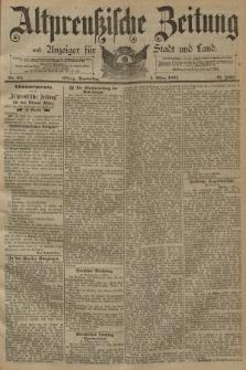 Altpreussische Zeitung, Nr. 54 Donnerstag 5 März 1891, 43. Jahrgang