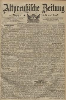 Altpreussische Zeitung, Nr. 112 Sonnabend 16 Mai 1891, 43. Jahrgang