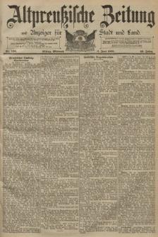 Altpreussische Zeitung, Nr. 126 Mittwoch 3 Juni 1891, 43. Jahrgang