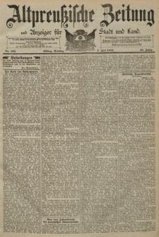 Altpreussische Zeitung, Nr. 155 Dienstag 7 Juli 1891, 43. Jahrgang