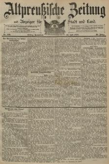 Altpreussische Zeitung, Nr. 165 Sonnabend 18 Juli 1891, 43. Jahrgang