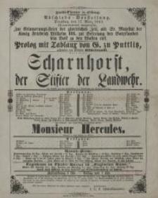 Scharnhorst, der Stifter der Landwehr - Heinrich Lindau