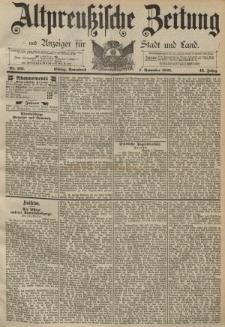 Altpreussische Zeitung, Nr. 261 Sonnabend 7 November 1891, 43. Jahrgang
