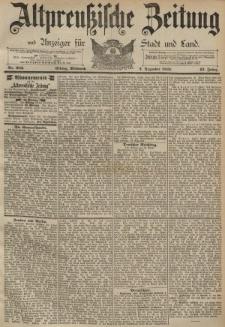 Altpreussische Zeitung, Nr. 282 Mittwoch 2 Dezember 1891, 43. Jahrgang